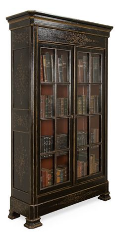 Ellens Armoire / British Colonial Style Bookcase