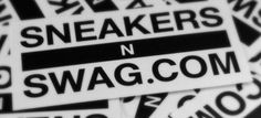 Free Sneaker Swag Stickers