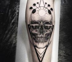 Skull tattoo by Otheser Tattoo