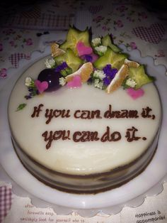 Agaragar cake
