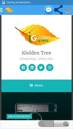 iGolden Tree Scholarships  (Easy apply) Free Scholarships Portal And Online Jobs .Daily Scholarships by iGolden Tree