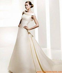 Winterjas trouwjurk