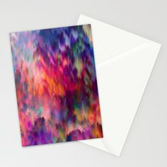 FREE SHIPPING ENDS TODAY Sunset Storm Stationery Cards by Amy Sia | Society6