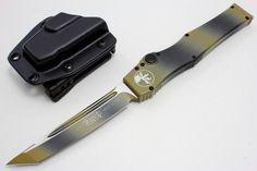 You're not bulletproof..., Microtech Knives - 150-1TC Halo V T/E Tan Camo...
