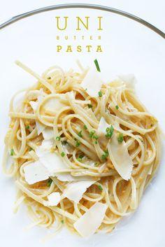Uni Butter Pasta  Recipe here: http://bennydoro.com/chef/recipes/eric-ripert%E2%80%99s-sea-urchin-pasta/