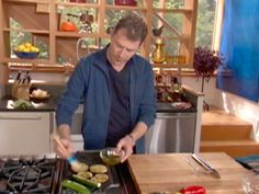 Bobby Flay on tools for indoor and outdoor grilling.