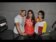Aamir Khan at the special screening of Rani Mukherjee's movie Mardaani - LEAKED PICTURES.