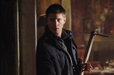Supernatural - Publicity still of Jensen Ackles
