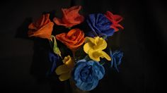 Ideas art for everyone, DIY - Joanna Wajdenfeld: Candlestick flowers with petals