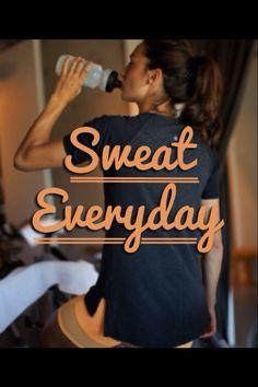 Sweat sweat sweat!!!