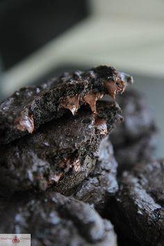 Dark Chocolate Guinness Cookies.  Heck yeah!