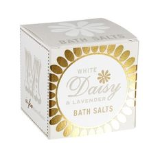 Made using the finest sea salt and delicious fragrance. Add a spoonful of these deliciously fragranced salts to a bath for the perfect bathing experience, created to soften and scent the water