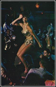 Go go dancing at Miami Beach, Florida, 1966.