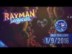 Rayman Legends - Daily Challenge 1/9/2016 - Distance 1933,84m (Diamond Cup)