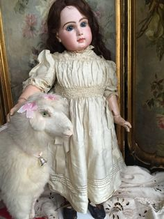 Beautiful Bebe Jumeau size 15 from antiquedolls6395 on Ruby Lane