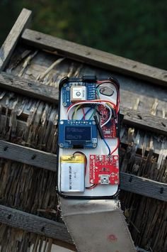 Picture of Arduino GPS in iPhone Case - build your own ! :)