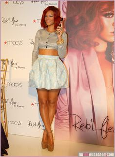 Rihanna ~ Love this outfit!