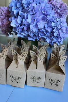 Truffle favor boxes from the David Tutera Casual Elegance Collection of DIY bridal and wedding decor, crafts and accessories #DTCasualElegance