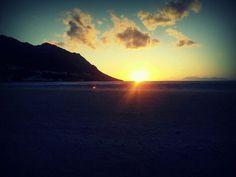 Beach sunset #BestEver