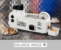 Mini Doughnut Maker - $179.99 - It's a tiny doughnut factory!  What's not to love?!