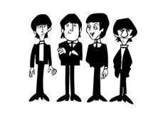 cartoon beatles.