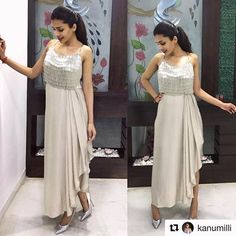 All you need to dress like you be confident enough to be yourself, select the dress which make you beautiful. Price - DM Sizes - Fabric - satin and tubelight top . Indian Gowns, Indian Attire, Indian Wear, Indian Outfits, Stylish Dresses, Fashion Dresses, Party Wear Dresses, Dresses Dresses, Long Dresses