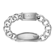 emporio armani egs1751040 #men's stainless steel #iconic identity #bracelet,  View more on the LINK: http://www.zeppy.io/product/gb/2/252355265023/
