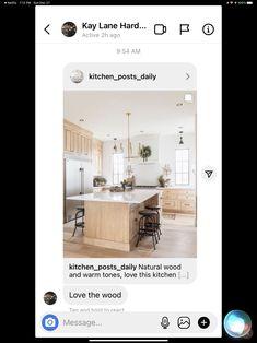 Neutral Kitchen Designs, Oversized Mirror, Furniture, Home Decor, Decoration Home, Room Decor, Home Furnishings, Home Interior Design, Home Decoration