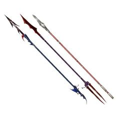 fantasy spear design - Google Search | Weapons and Armor | Pinterest ❤ liked on Polyvore featuring weapons