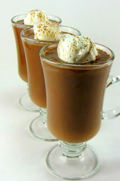 Chocolate Soup. Making this tonight :-)