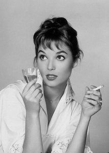Italian actress and fashion model Elsa Martinelli, 1960's
