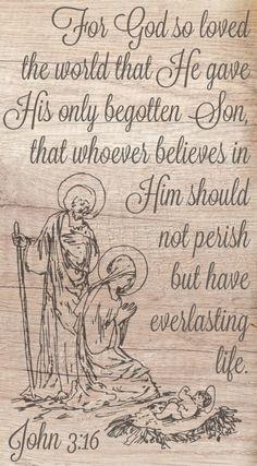 Sunday Scripture December 17, 2017 | John 3:16 #scripture #bible #jesus