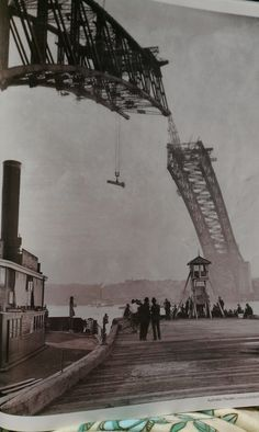 1930 - Construction of the Sydney Harbour bridge