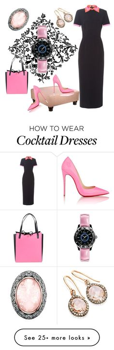 """Untitled #77"" by maria-budeneva on Polyvore featuring Roksanda, John Robshaw, Christian Louboutin, Michael Kors and Christian Dior"