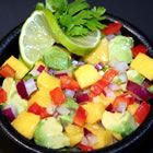 Mango, Avocado and Jalapeno salsa- Made this tonight and put it on grilled chicken tacos! Very Good!