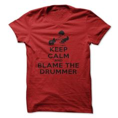 Keep Calm, Keep Calm And Let The Handle It, Keep Calm And Blame The Drummer, Funny, Gift T Shirts, Hoodies, Sweatshirts. CHECK PRICE…