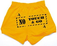 Ladies Cheer Shorts - No Touch & Go