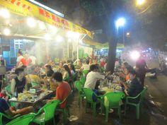 7 streets with best street food Vinh Khanh street food, Saigon