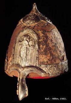 Резултат с изображение за шлем князя владимира