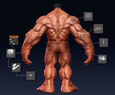Making of Red Hulk | 3DM3 – Tutorials | Making ofs | Articles | Videos Tutorials