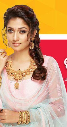 57 Ideas Hair Brunette Bun Side Braids For 2019 Nayanthara Hairstyle, Saree Hairstyles, Indian Wedding Hairstyles, Bride Hairstyles, Trendy Hairstyles, Nayanthara In Saree, Beautiful Girl Indian, Most Beautiful Indian Actress, Tori Tori