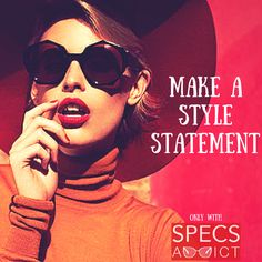 Look stylish and chic with this trendy pair of sunglasses!  Have a look at the latest round sunnies available only in Specsaddict   #sunglasses #eyewear #stealhherstyle #trending #latest #fashion #timeless #classic #elegant #style #specsaddict  #love #lovespecs