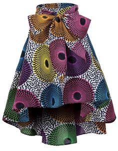 African Print Skirt, African Print Dresses, African Dresses For Women, African Print Fashion, African Wear, African Attire, Modern African Fashion, African Print Clothing, African Fashion Designers