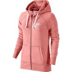 Nike Girls' Vintage Marled Jersey Gym Hoodie - Sizes S-xl Nike Sportswear, Hooded Sweatshirts, Hoodies, Vintage Jerseys, Nikes Girl, Vintage Cotton, Full Zip Hoodie, Hoodie Jacket, Neue Trends