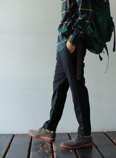 [nanamica] Strech Wool Pants