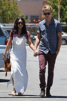 Vanessa Hudgens whoa! I always wanted purple tooooo and a hot bf lol ;)