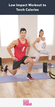 Torch Calories With This Low-Impact High-Intensity Workout (full length video)