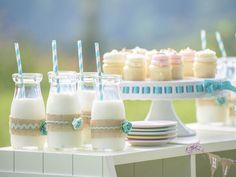Garrafinhas de leite