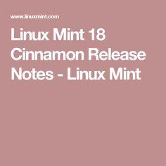 Linux Mint 18 Cinnamon Release Notes - Linux Mint