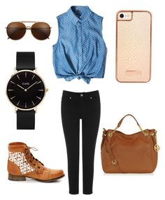 """""""Untitled #9"""" by mburnside on Polyvore featuring Oasis, Steve Madden, Michael Kors, Skinnydip and CLUSE"""